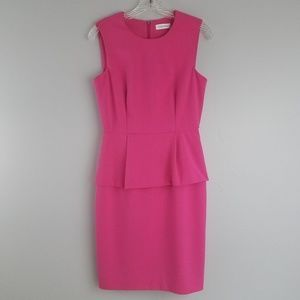 Calvin Klein 4 pink sleeveless career dress
